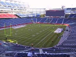 Gillette Stadium View From Mezzanine 240 Vivid Seats