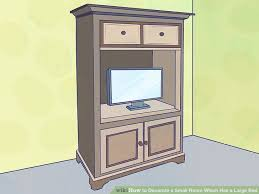 image titled decorate small. Image Titled Decorate A Small Room Which Has Large Bed Step 4