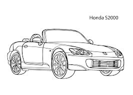 2079x1483 super car honda s2000 coloring page cool car printable free