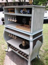 furniture repurposed. repurposed bombay dresserdry barblueu0026 whitestainedwine holderhoundstooth furniture