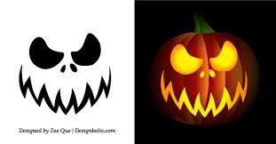 Free printable scary easy pumpkin carving stencils free printable scary  easy pumpkin carving stencils free printable easy funny jack o lantern face  stencils ...