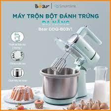 Máy Trộn Bột và Đánh Trứng Kết Hợp Bear DDQ-B03V1 - Phiên bản Quốc tế Chính  Hãng BEAR bảo hành 18 Tháng - Máy xay sinh tố