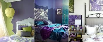 Green Purple Bedroom Ideas