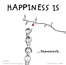 Happiness Is Happiness Is Teamwork Quotes Teamwork Quotes For