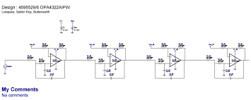 Single Supply Op Amp Design Low Pass Sallen Key Filter Using Single Supply For Audio