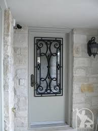 wrought iron exterior doors. Wrought-iron-door-grill-insert-6 Wrought Iron Exterior Doors