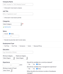 How To Search For Candidates In Resume Database