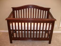interior: Interesting Solid Oak Material For Traditional Diy Baby Crib With  Vitage Design And White