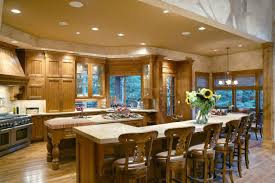 Outstanding Open Floor Plans With Large Kitchens 60 About Remodel
