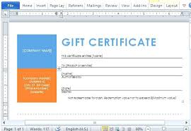 Printable Gift Certificates Make A Certificate Online Free Template