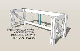 plans a computer desk