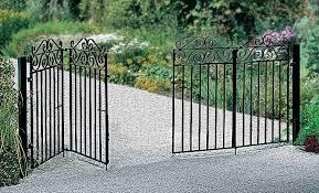 3ft metal gate marlborough wrought iron style bi folding metal driveway gates 3ft high court hoop 3ft metal gate previousnext
