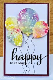 Homemade Handmade Greeting Card Making Ideas With Balloons Card Making Ideas For Birthday