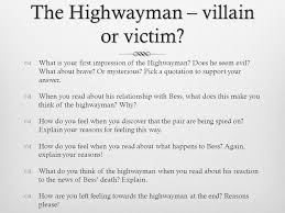 the highwayman alfred noyes ppt video online  13 the highwayman