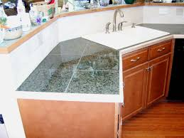 Granite Tile Kitchen Counter Tile Countertops Custom Granite Tile Countertops Tile Kitchen