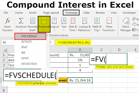 Compound Interest Chart Pdf Compound Interest Formula In Excel Step By Step Calculation