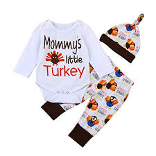 Rosie Pope Size Chart Amazon Com Newborn Infant Baby Girl Thanksgiving Outfits