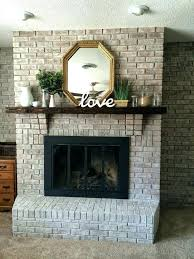 best color to paint brick fireplace fireplace paint color for brick fireplace wall