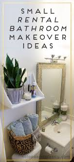 apartment bathroom decorating ideas small rental makeover ideas not a passing fancy rental apartment bathroom decorating ideas t47 bathroom