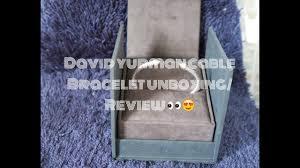 My First David Yurman Bracelet Sizing Review