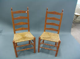 ladder back chairs with rush seats extravagant cane antique home ideas 21