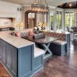 kitchen island with bench seating. Kitchen Island With Bench Seating (57)