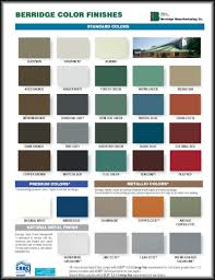 Inquisitive Berridge Manufacturing Color Chart Asc Roofing