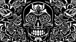 Skull Wallpaper For Bedroom Sugar Skull Wallpaper For Home Magnificent Sugar Skull Images