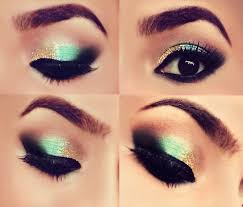 how to do glitter gold makeup eyeshadow tutorial by makeup tutorials at