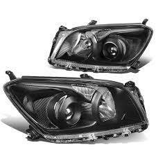 12 Toyota RAV4 OE-Style Replace Projector Headlights - Black / Clear