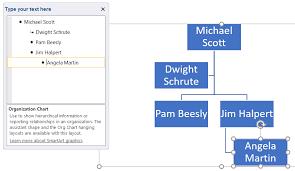 Expository Organizational Chart Microsoft Word 2010
