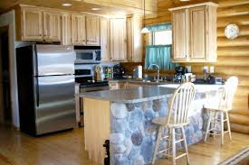 Golden Eagle Log And Timber Homes Design Ideas Log Home Kitchens