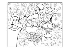 Henri Matisse Coloring Sheets Mountainstyleco