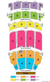 Akron Civic Theatre Seating Chart