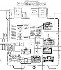 1997 toyota camry fuse box diagram newomatic 2000 toyota camry tail light fuse at 1999 Toyota Camry Fuse Box Location