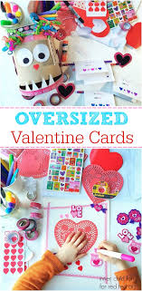 Valentines Day Cards For Boys Giant Valentines Day Cards For Kids Red Ted Arts Blog