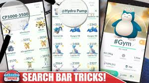 BEST SEARCH BAR TRICKS! HOW TO SEARCH MOVES, ENTIRE EVOLUTIONS, SUBTRACT +  MORE