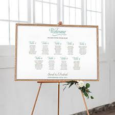 Wedding Seat Chart Poster Seating Chart Posters