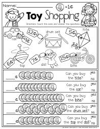 Toy shopping! Counting pennies and comparing numbers! | 1st Grade ...