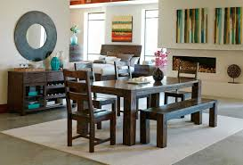 Dining Table Co Dark Brown Dining Table Co 151 Urban Transitional Dining