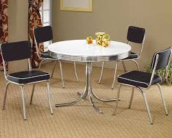 Dining Table Co Round Dining Table Upholstered Chairs Cleveland Co 2388set
