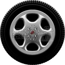 tires and rims clipart.  Tires Car Tire On A Rim Throughout Tires And Rims Clipart R