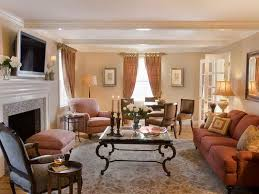 Decorating Rectangular Living Room Model Simple Design Ideas