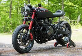 project scorpion 1992 honda cb750 cafe racer bike urious