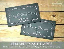 flat place cards printable wedding place cards closeup view of templates for flat