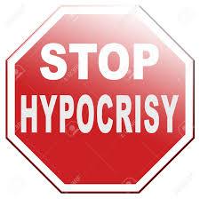 Stop Hypocrisy Faking Hypocrite Stock ...
