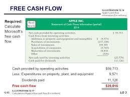 Microsoft Cash Flow 12 Statement Of Cash Flows Kimmel Weygandt Kieso Ppt Download