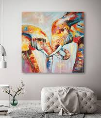 elephant painting love