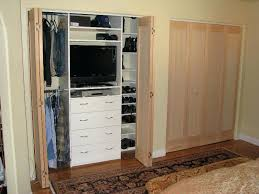 closet without doors solution shaker style fir doors shaker style fir doors open closet door storage