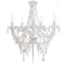 lexington home collection devotion 5 light clear acrylic crystal chandelier